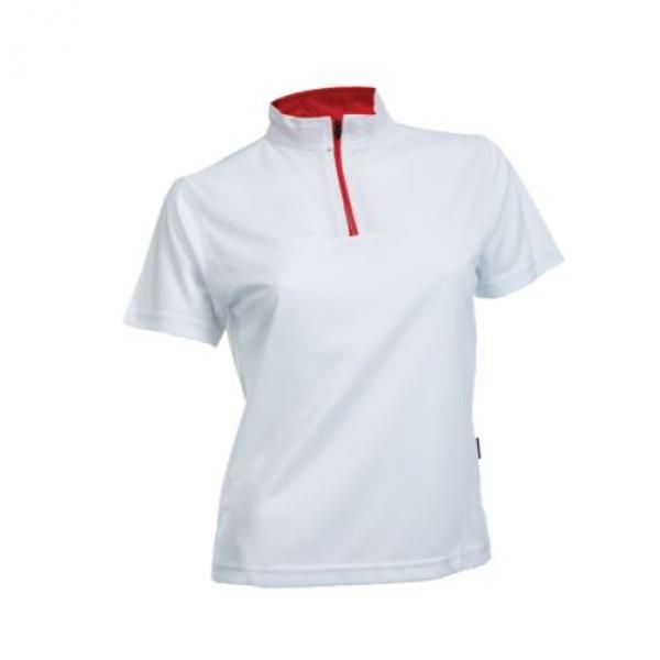 QD21 Female Quick Dry Stand Collar Tee Apparel Shirts SSP1016