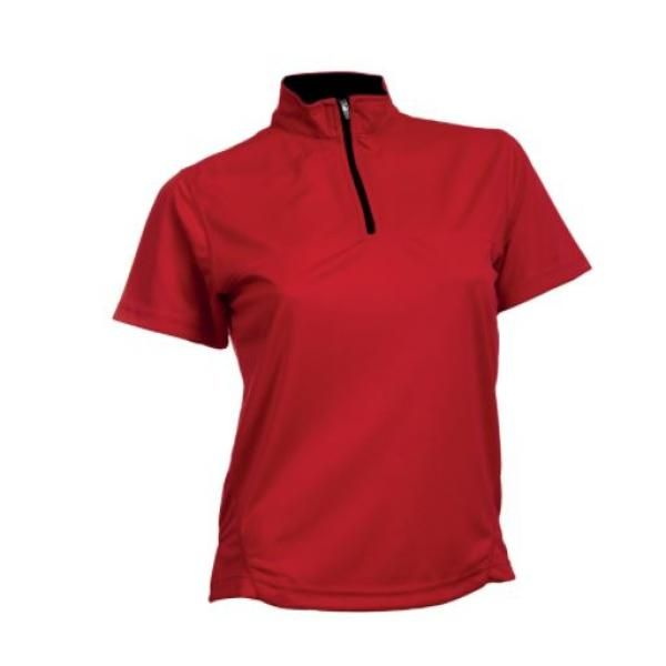 QD21 Female Quick Dry Stand Collar Tee Apparel Shirts SSP1016-2
