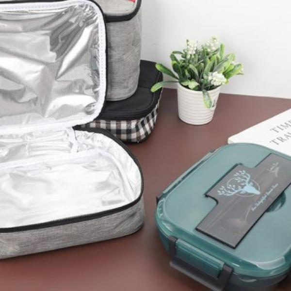 27.5x7.5x23cm Thermal Insulation Lunch Box Bag Bags e