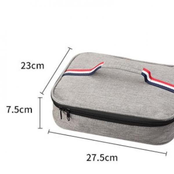 27.5x7.5x23cm Thermal Insulation Lunch Box Bag Bags f
