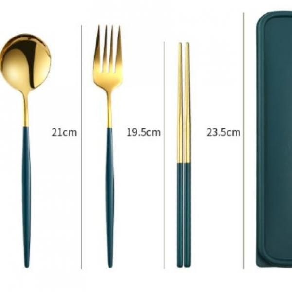 Portuguese Stainless Steel Cutlery Set Household Products Eco Friendly zz