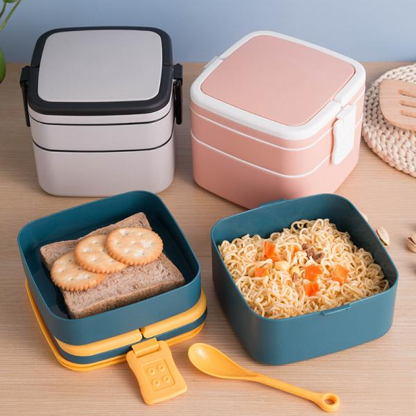 Forage Lunch Box  Spoon Household Products Kitchenwares Eco Friendly 5