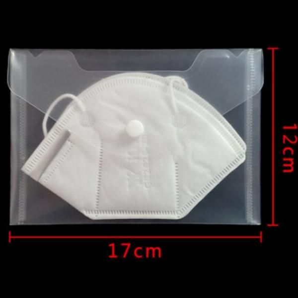 PVC KN95 Mask Keeping Button Folder Landscape Personal Care Products 7