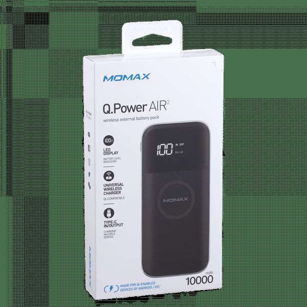 Momax Q.Power Air 2 Wireless External Battery Pack Electronics & Technology IP90D_06_800
