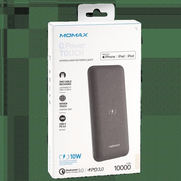 Momax Q.Power Touch Wireless External Battery Pack Electronics & Technology IP91MFIE_05_800