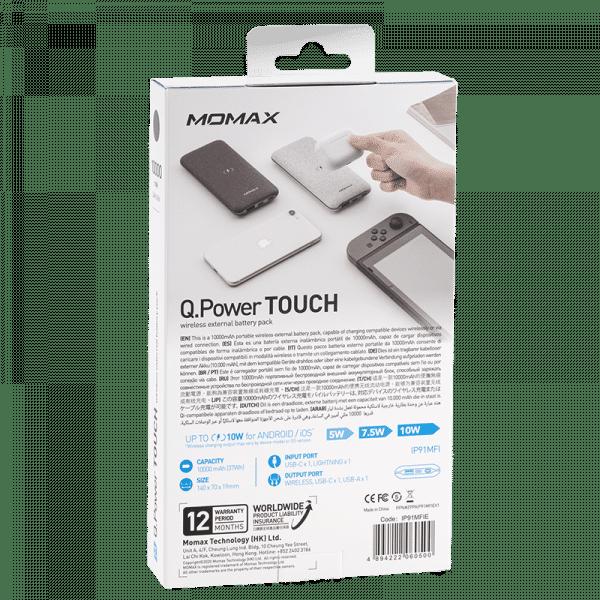 Momax Q.Power Touch Wireless External Battery Pack Electronics & Technology IP91MFIE_06_800