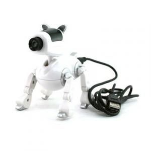 Doggie Webcam with Mic - White Electronics & Technology Computer & Mobile Accessories Best Deals CLEARANCE SALE LargeProd614