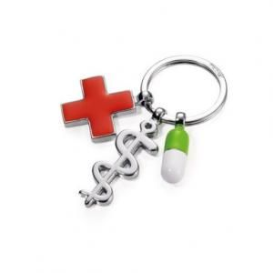 Troika Keyring GET WELL Metals & Hardwares Keychains MKY1031
