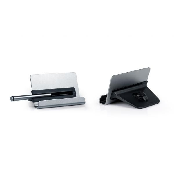 Apoyo Phone Stand With Stylus & Cable Holder Electronics & Technology Computer & Mobile Accessories EMO1014-SLVHD_3