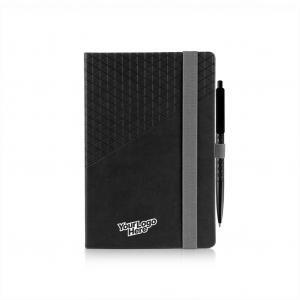 Geometric Notebook and Pen Set A5 Office Supplies Other Office Supplies FSS1012-BLKHD_2