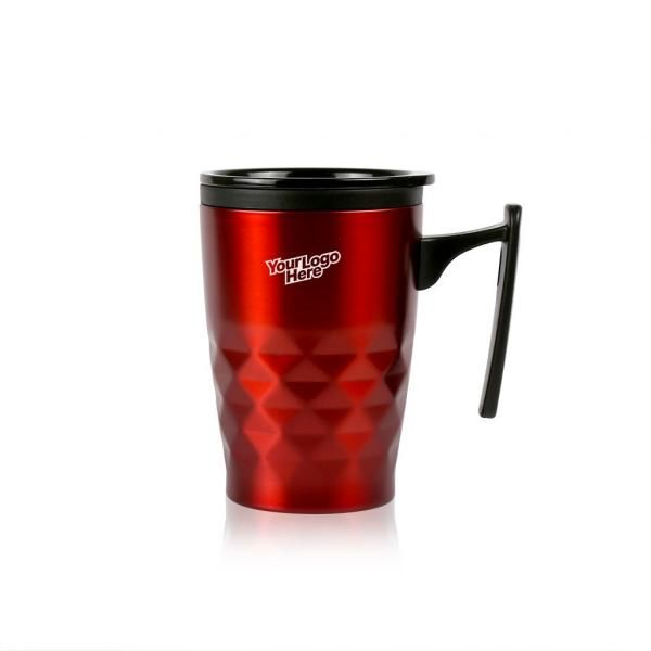 Diamond Mini Geometric Mug Household Products Drinkwares Best Deals NATIONAL DAY Give Back CHILDREN'S DAY HDC1020-REDHD_2
