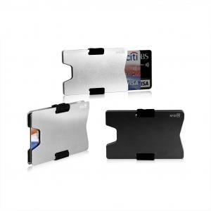 Portecurity Aluminium RFID Card Case Metals & Hardwares Card Holder MCH1003_GRPHD