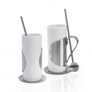 Irish Coffee Set Household Products Drinkwares Best Deals CLEARANCE SALE HDC1003-WHT-PGHD