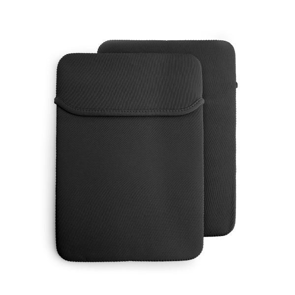 14' Reversible Neoprene Laptop Case Computer Bag / Document Bag Bags TCB1514_Blk