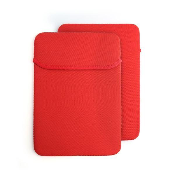 14' Reversible Neoprene Laptop Case Computer Bag / Document Bag Bags TCB1514_Red