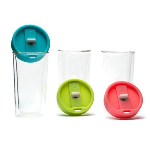 Double Wall Glass Tumbler Household Products Drinkwares Best Deals CLEARANCE SALE NATIONAL DAY HDT1004-GRPHD