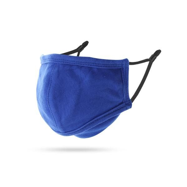 EASE Antimicrobial Reusable Adult Face Mask Personal Care Products KSO1059_Blu