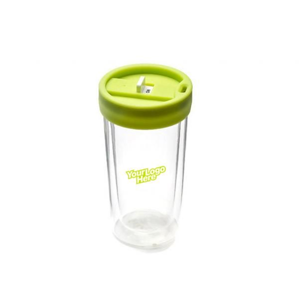 Double Wall Glass Tumbler Household Products Drinkwares Best Deals CLEARANCE SALE NATIONAL DAY HDT1004-GRNHD_2