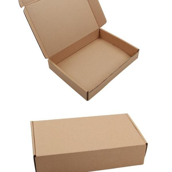 32x20x6cm Kraft Paper Box Printing & Packaging Earth Day zpa3