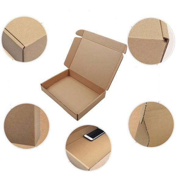32x20x6cm Kraft Paper Box Printing & Packaging Earth Day zpa2