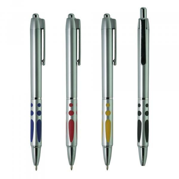 Metallic Plastic Ball Pen - AB Office Supplies Pen & Pencils PPB2803