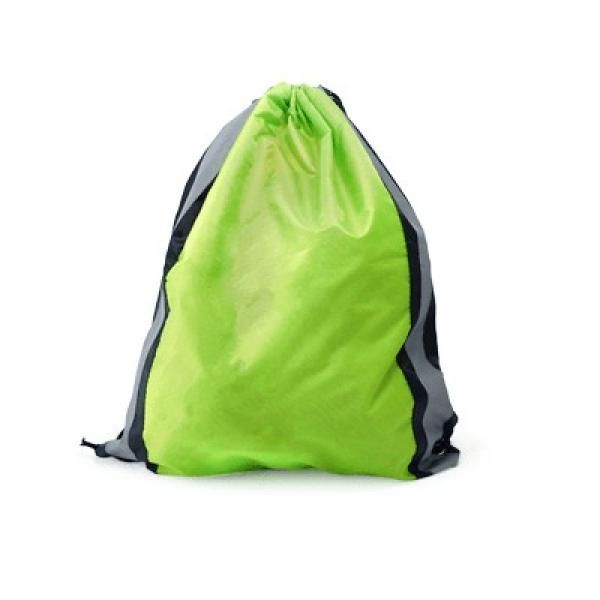 Drawstring Bag With Reflective Panel Drawstring Bag Bags Best Deals Give Back CHILDREN'S DAY Productview21039