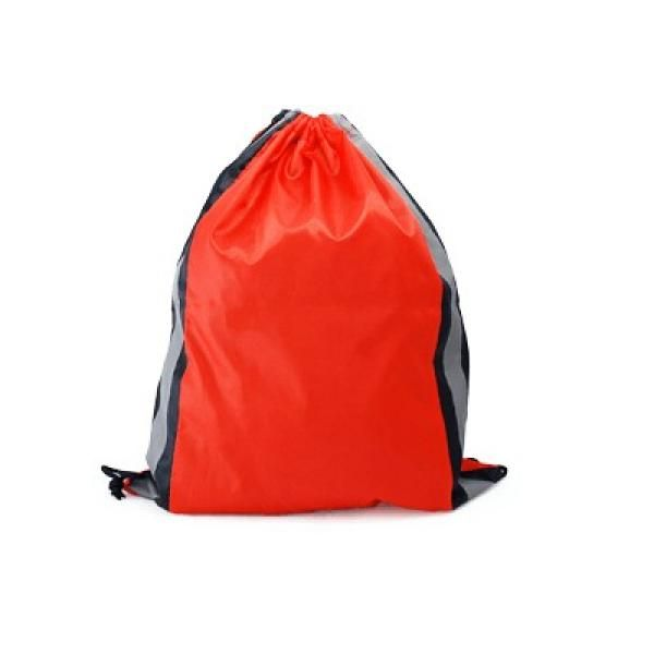 Drawstring Bag With Reflective Panel Drawstring Bag Bags Best Deals Give Back CHILDREN'S DAY Productview31039