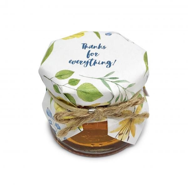 Maple Turquoise Multifloral Honey Jar 30g New Products Food and Drink Supplies Confectionary HSR0008-0-1