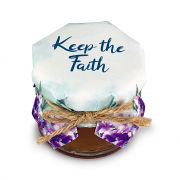 Keep the Faith Multifloral Honey Jar 30g New Products Food and Drink Supplies Confectionary HSR0020-0-1