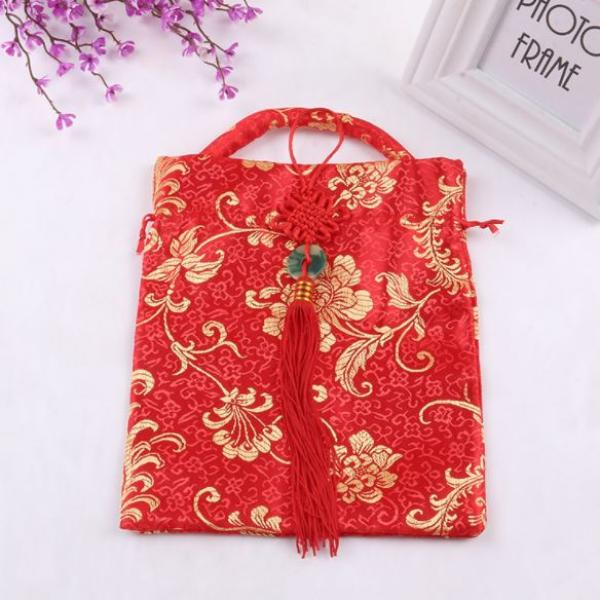CNY Mandarin Orange Pouch Small Pouch Festive Products 1