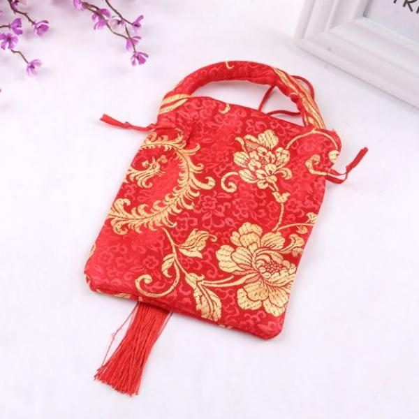 CNY Mandarin Orange Pouch Small Pouch Festive Products 2