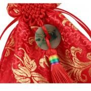 CNY Mandarin Orange Pouch Small Pouch Festive Products 3
