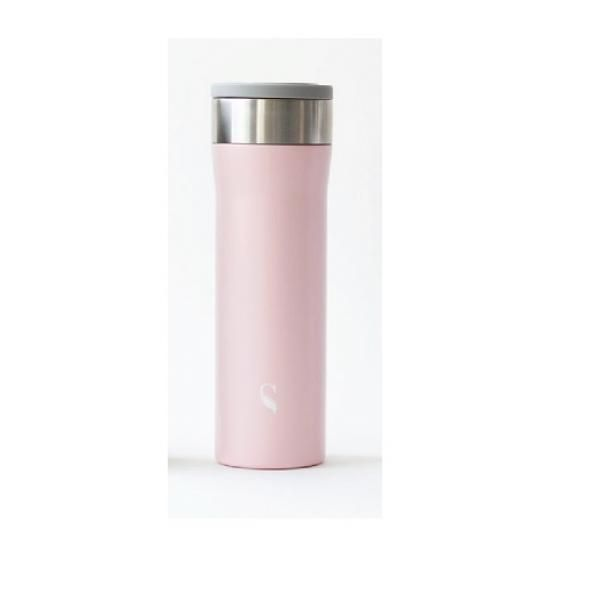 Satin Starlet Porcelain Thermal Flask with Handle Household Products Drinkwares HDF1018-PIK-SZ-T
