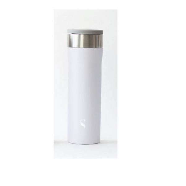 Satin Starlet Porcelain Thermal Flask with Handle Household Products Drinkwares HDF1018-WHT-SZ-T