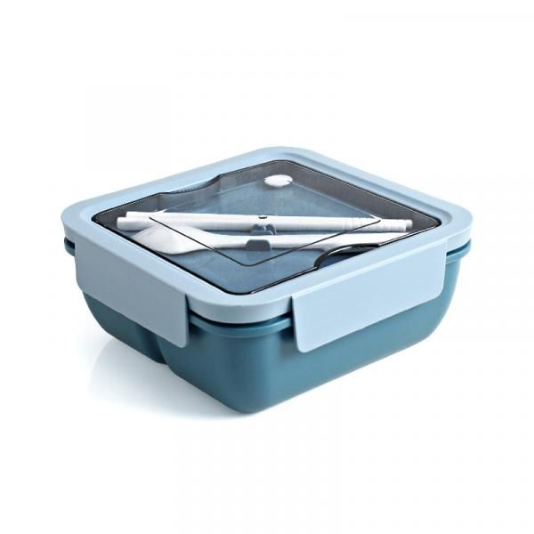 Wagon Square Lunch Box with Cutlery Household Products Kitchenwares Eco Friendly 4