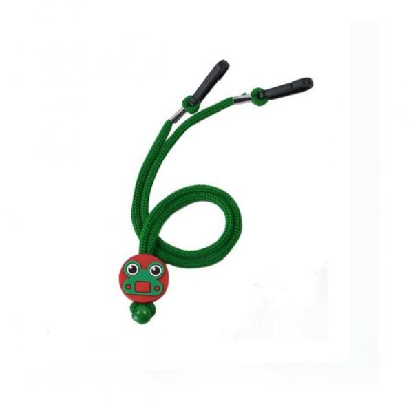 Cartoon Character Mask Holding Lanyard Lanyards & Pull Reels New Products DLA1005GRN