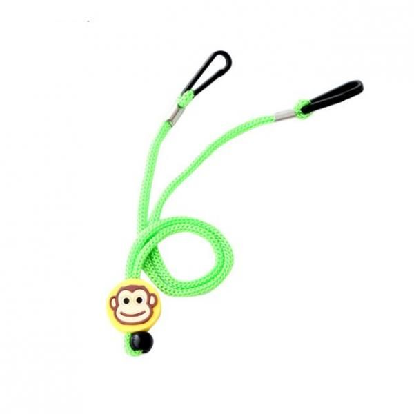 Cartoon Character Mask Holding Lanyard Lanyards & Pull Reels New Products DLA1005LGN