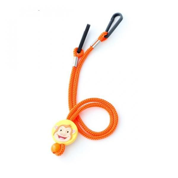 Cartoon Character Mask Holding Lanyard Lanyards & Pull Reels New Products DLA1005ORG