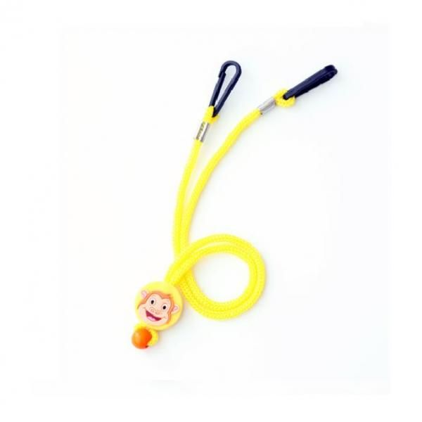 Cartoon Character Mask Holding Lanyard Lanyards & Pull Reels New Products DLA1005YLW