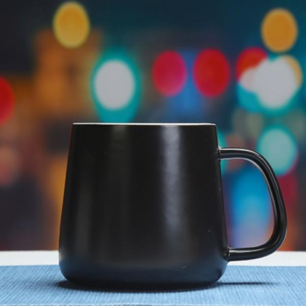 Buns Steamer Ceramic Mug Household Products Drinkwares New Products HDC1072-BLK