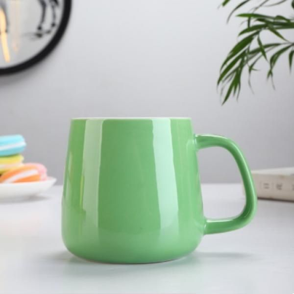 Buns Steamer Ceramic Mug Household Products Drinkwares New Products HDC1072-GRN