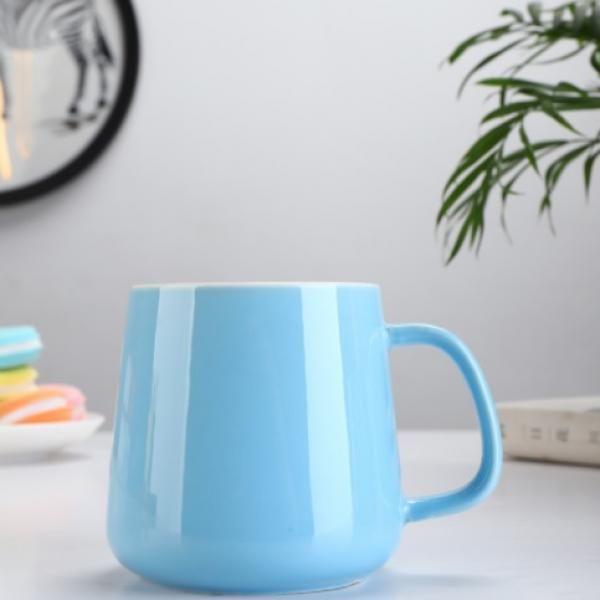 Buns Steamer Ceramic Mug Household Products Drinkwares New Products HDC1072-LBU
