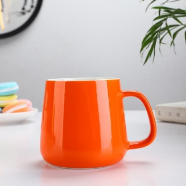 Buns Steamer Ceramic Mug Household Products Drinkwares New Products HDC1072-ORG