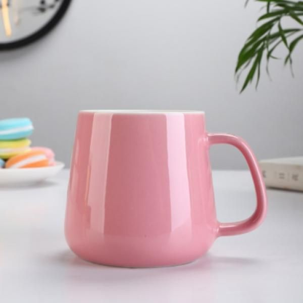 Buns Steamer Ceramic Mug Household Products Drinkwares New Products HDC1072-PIK