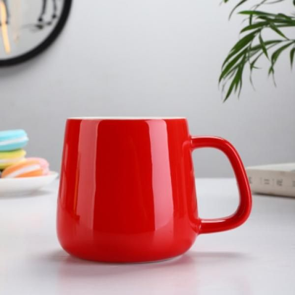 Buns Steamer Ceramic Mug Household Products Drinkwares New Products HDC1072-RED