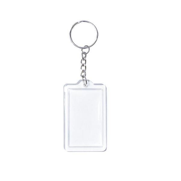 K0700 Arcrylic Rectangle Keychain Keychains New Products MKY1053