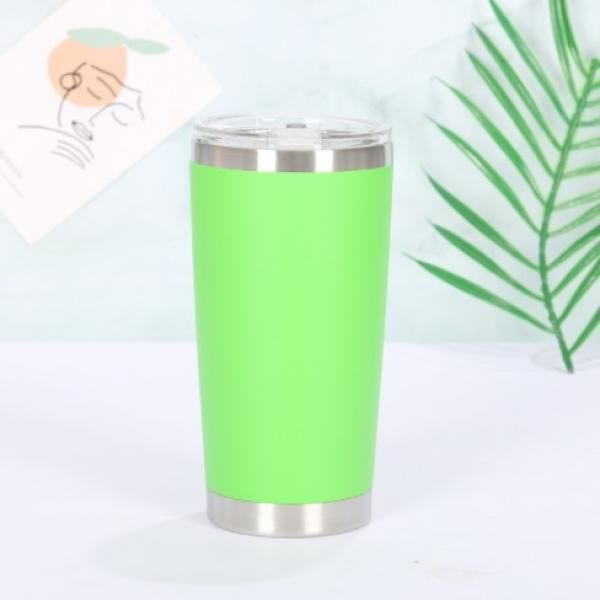 Stainless Steel Travel Tumbler Household Products Drinkwares New Products HDT1023-GRN