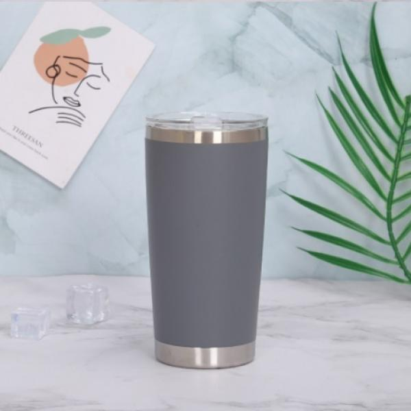 Stainless Steel Travel Tumbler Household Products Drinkwares New Products HDT1023-GRY