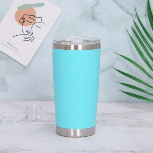 Stainless Steel Travel Tumbler Household Products Drinkwares New Products HDT1023-LBU