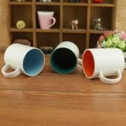 Dual Color Silkscreen Ceramic Mug Household Products Drinkwares New Products HDC1077-2
